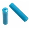 """Plastic Imitation Bone Cylinder 1"""" Turquoise (60gm)"""